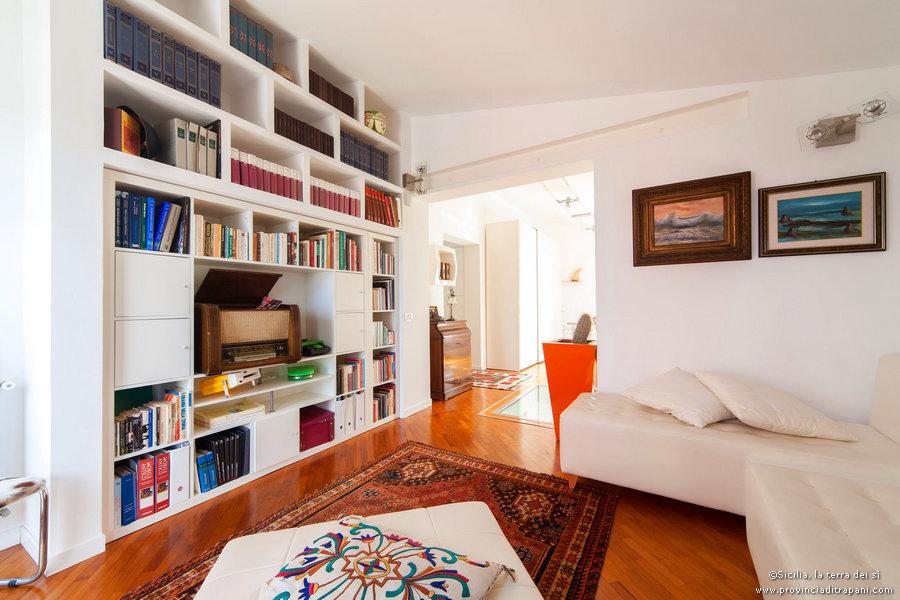 Salotto e libreria
