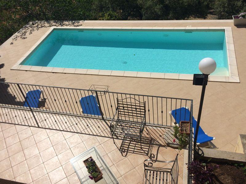 Erice Villa con piscina<br>Close to Heaven - Quadro d'autore