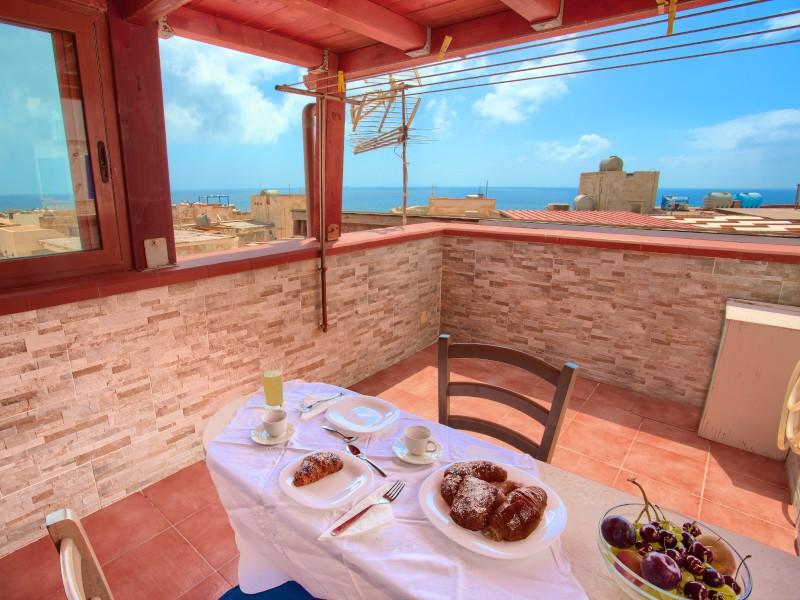 Marettimo mansarda panoramica<br>L'attique des amants - Le monde est dehors