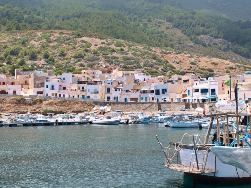 Marettimo appartamento vacanze<br>La Liceiola - Un mare lontano lontano