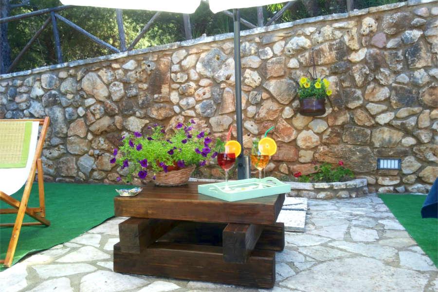 Aperitivi in giardino