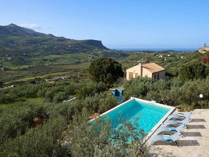 Scopello-Fraginesi<br>Villa con piscina extra-lusso -