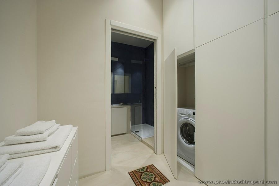 Antibagno con lavatrice